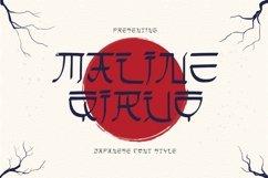 Web Font Maline Qiruo Font Product Image 1