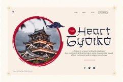 Web Font Maline Qiruo Font Product Image 5