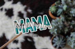 Mama Cowhide Abstract PNG File / Sublimation Clipart File Product Image 2