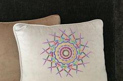 Mandala colorful embroidery Product Image 2