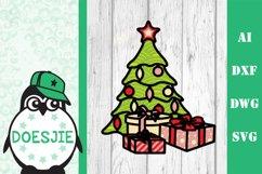 Christmas tree svg layered mandala multi layer tree gifts Product Image 2