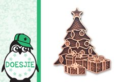 Christmas tree svg layered mandala multi layer tree gifts Product Image 3