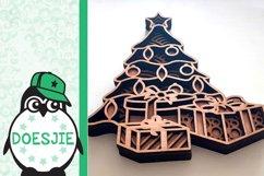Christmas tree svg layered mandala multi layer tree gifts Product Image 4