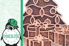 Christmas tree svg layered mandala multi layer tree gifts Product Image 6