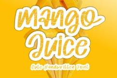 Mango Juice - Cute Handwritten Font Product Image 1