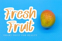 Mango Juice - Cute Handwritten Font Product Image 6