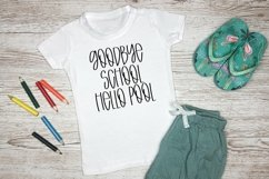 Web Font Mango Mojito - A Quirky Handlettered Font Product Image 3