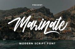 Web Font Marinate - Modern Script Font Product Image 1
