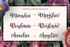 Love Swash Script Font - Marlina Garden Product Image 6