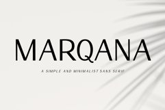 Marqana - Modern Sans Serif Product Image 1
