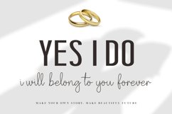 NEW ! Will You Marry Me - Font Duo Product Image 2