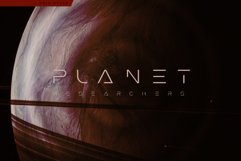 Futuristic Mars Font Product Image 3