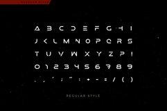 Futuristic Mars Font Product Image 4
