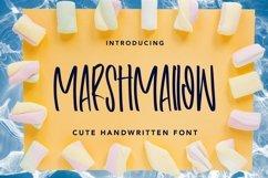 Web Font Marshmallow - Cute Handwritten Font Product Image 1