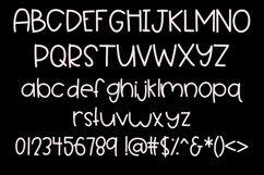 Marshmallow Floof - A Quirky Handwritten Font Product Image 2