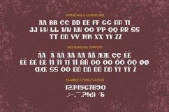 Web Font MARSUS Font Product Image 4