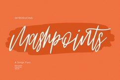 Mashpoints Handwritten Script Font Product Image 1