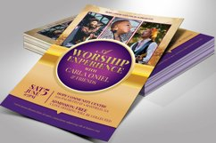 Mass Choir Concert Flyer Word Publisher Template Product Image 6