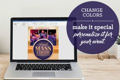 Mass Choir Concert Flyer Word Publisher Template Product Image 4