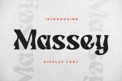 Web Font Massey Product Image 3