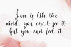 Matchbook - Girly Script Font Product Image 2