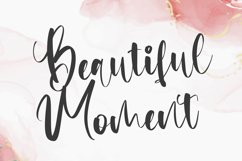 Matchbook - Girly Script Font Product Image 3