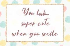 Mathea - Cute Handwritten Font Product Image 4