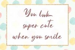 Web Font Mathea - Cute Handwritten Font Product Image 5