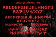 Web Font Mavia - Cool Display Font Product Image 6