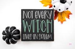 MAGIC CAULDRON Halloween Witch Font Product Image 5