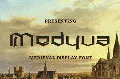 Web Font Medyva Product Image 1
