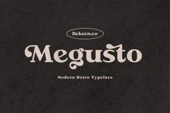Megusto - Modern Retro Typeface Product Image 1