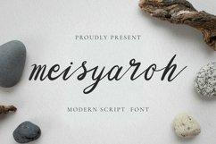 Web Font Meisyaroh Font Product Image 1