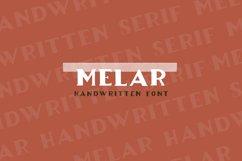 Melar - a hand drawn serif font Product Image 1