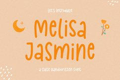 Cute Handwritten Font - Melisa Jasmine Product Image 1
