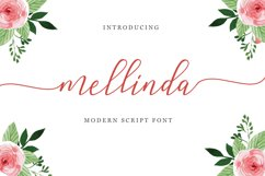 mellinda script Product Image 1