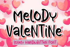 Melody Valentine Product Image 1