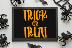 Web Font Melted - A Handlettered Halloween Font Product Image 2
