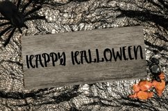 Web Font Melted - A Handlettered Halloween Font Product Image 4