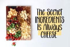 Melted Cheese - Quirky Handlettering Font Product Image 5