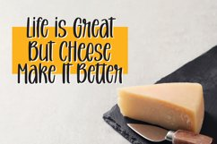 Melted Cheese - Quirky Handlettering Font Product Image 2