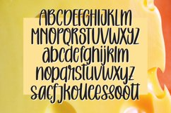 Melted Cheese - Quirky Handlettering Font Product Image 4
