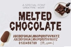 Melted Chocolate Font | Open Type & Woff Product Image 3