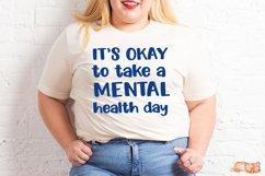 Mental Health Day SVG - Mental Health Awareness Product Image 3