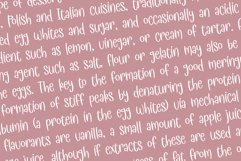 Meringue - a quirky handwritten typeface Product Image 5
