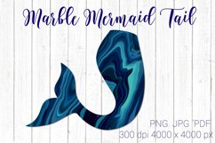 Mermaid tail clipart PNG, Mermaid clipart printable Product Image 1
