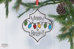 Arabesque Tile Christmas Ornament SVG Bundle Product Image 5