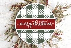Farmhouse Round Christmas SVG Bundle - Sign Making Bundle Product Image 6