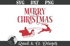 Christmas Sign SVG Bundle, Round Christmas Sign Bundle Product Image 4
