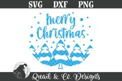 Christmas Sign SVG Bundle, Round Christmas Sign Bundle Product Image 5